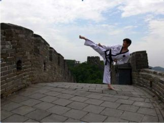 On the Great Wall of China 2006