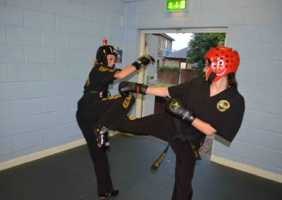 Safe controlled sparring